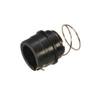 втулка магнитного вала контактная HP LJ 1010/1012/1015 (с пружиной) Static Contr..