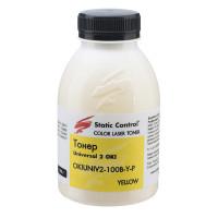 тонер универсальный OKI 2 (Glossy) 100г yellow (фасованный) Static Control