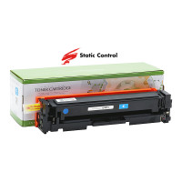 картридж HP CLJ CF401X (201X) Static Control 2.3k cyan