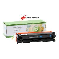 картридж HP CLJP CF411A (410A) Static Control 2.3k cyan