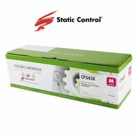 картридж HP CLJP CF543X (203X) Static Control 2.5k magenta