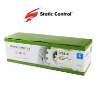 картридж Static Control совместимый аналог HP CF541X (203X) cyan