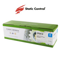 картридж HP CLJP CF541X (203X) Static Control 2.5k cyan