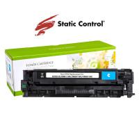 картридж HP CLJ CC531A (304A) Static Control 2.8k cyan