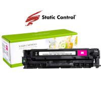 картридж Static Control восстановленный HP CC533A (304A), Canon 718 magenta