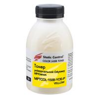 тонер универсальный Odyssey HP/Canon150г yellow (фасованный) Static Control