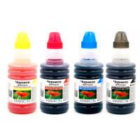 комплект чернил для Canon G1400/2400/3400/G4400 (4*100мл) Makkon pigment