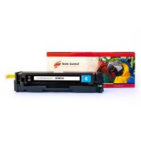 картридж Static Control Parrot совместимый аналог HP CF401A (201A), Canon 045 cy..